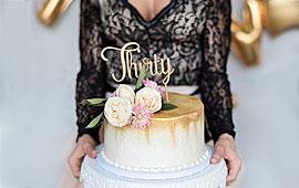 Gâteaux anniversaire pour femmes