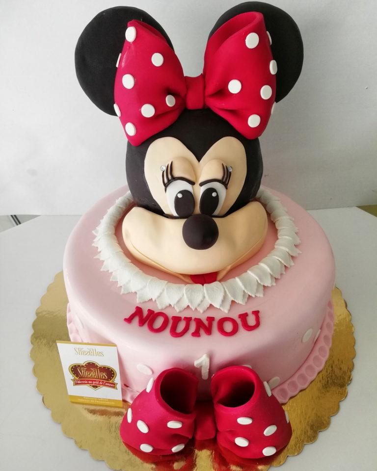 Gateau D Anniversaire Minnie.Gateaux D Anniversaires Minnie Mouse Patisserie Sheselles